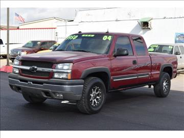 2004 Chevrolet Silverado 1500 for sale in El Reno, OK