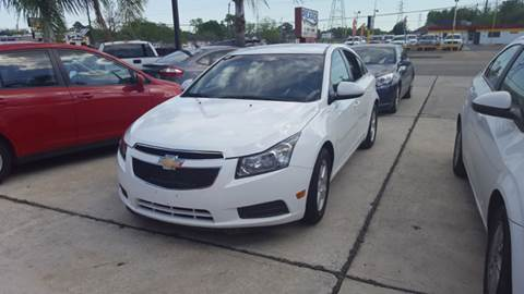 2013 Chevrolet Cruze for sale at PICAZO AUTO SALES in South Houston TX