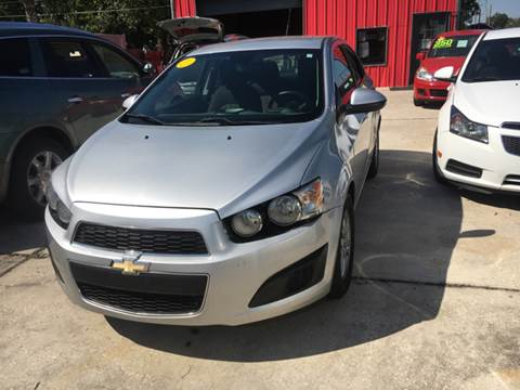2013 Chevrolet Sonic for sale at PICAZO AUTO SALES in South Houston TX
