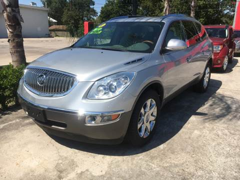 2010 Buick Enclave for sale at PICAZO AUTO SALES in South Houston TX