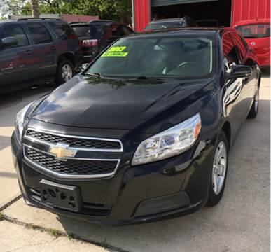 2013 Chevrolet Malibu for sale at PICAZO AUTO SALES in South Houston TX