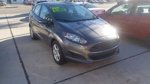 2014 Ford Fiesta for sale at PICAZO AUTO SALES in South Houston TX