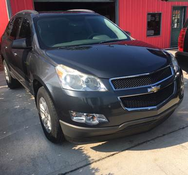 2012 Chevrolet Traverse for sale at PICAZO AUTO SALES in South Houston TX