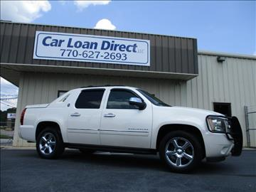 2013 Chevrolet Black Diamond Avalanche for sale in Cartersville, GA