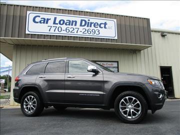 2014 Jeep Grand Cherokee for sale in Cartersville, GA