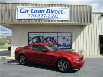 2012 Ford Mustang for sale in Cartersville, GA