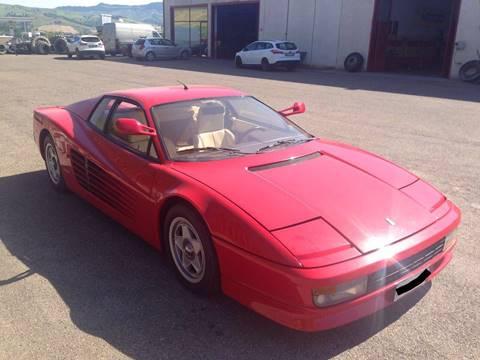 Ferrari Testarossa For Sale  Carsforsalecom