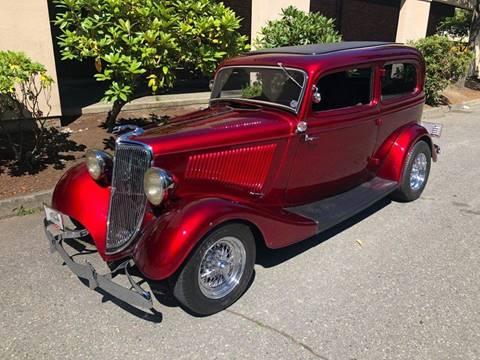1934 Ford Tudor for sale in Edmonds, WA