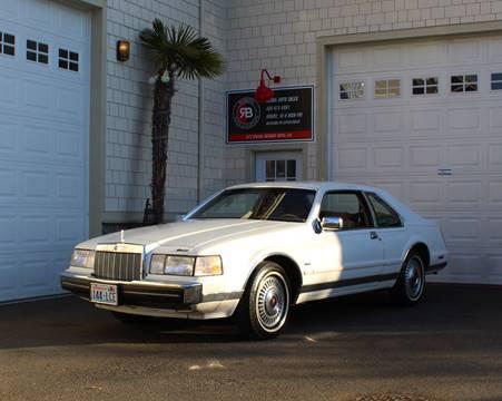 1984 Lincoln Mark VII for sale in Edmonds, WA