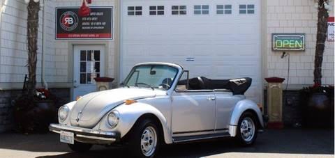 1979 Volkswagen Beetle Convertible for sale in Edmonds, WA