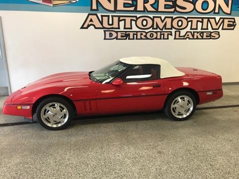 1988 Chevrolet Corvette for sale in Detroit Lakes, MN
