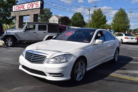 2013 Mercedes-Benz S-Class S 550 4MATIC for sale at I-DEAL CARS in Camp Hill PA