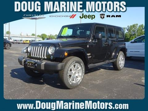 2017 Jeep Wrangler Unlimited for sale in Washington Court House, OH