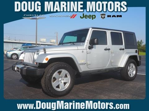 2010 Jeep Wrangler Unlimited for sale in Washington Court House, OH