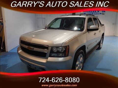 Garrys Auto Sales >> 2011 Chevrolet Avalanche For Sale In Dunbar Pa