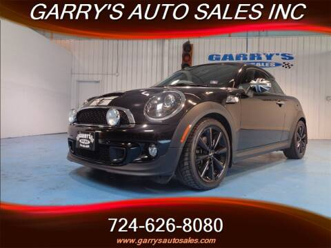 2012 MINI Cooper Coupe for sale in Dunbar, PA