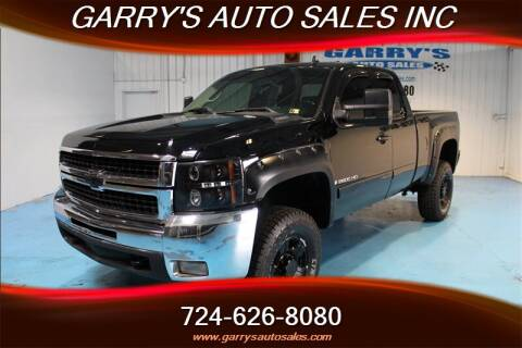 Garrys Auto Sales >> 2008 Chevrolet Silverado 2500hd For Sale In Dunbar Pa