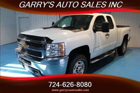 Garrys Auto Sales >> 2011 Chevrolet Silverado 2500hd For Sale In Dunbar Pa
