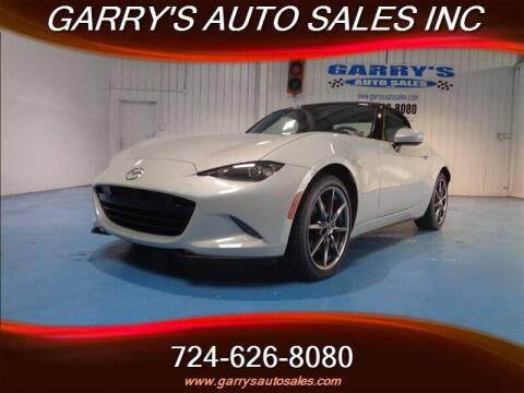 Garrys Auto Sales >> 2016 Mazda Mx 5 Miata For Sale In Dunbar Pa
