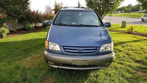 2001 Toyota Sienna for sale in Fredericksburg, VA