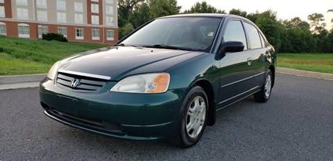 2002 Honda Civic for sale in Fredericksburg, VA