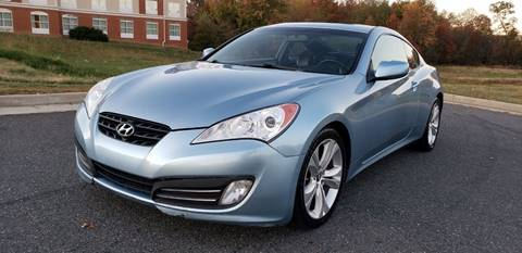 2010 Hyundai Genesis Coupe for sale in Fredericksburg, VA