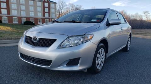 2009 Toyota Corolla LE for sale at Alpha Auto Group LLC in Fredericksburg VA