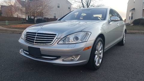2007 Mercedes-Benz S-Class S 550 4MATIC for sale at Alpha Auto Group LLC in Fredericksburg VA