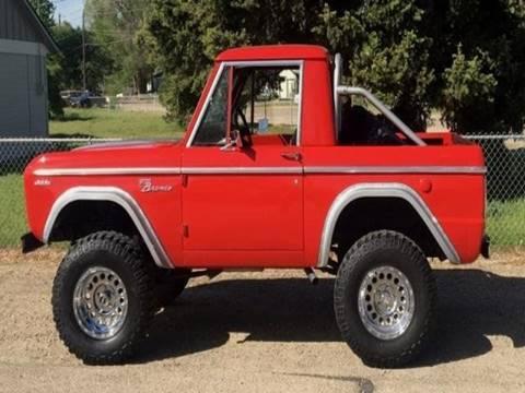 Bronco Motors Boise >> 1969 Ford Bronco For Sale - Carsforsale.com