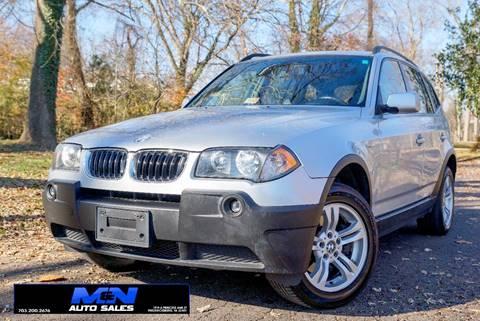 2005 BMW X3 for sale in Fredericksburg, VA