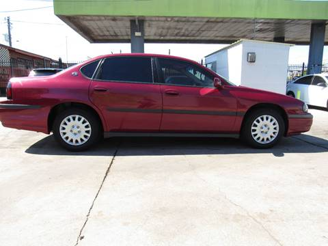 2005 Chevrolet Impala for sale in Houston, TX