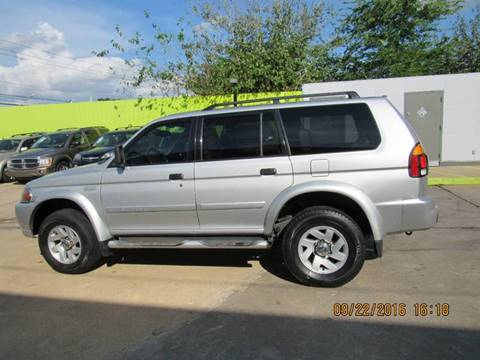 2002 Mitsubishi Montero Sport for sale in Houston, TX