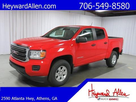 2017 GMC Canyon for sale in Athens, GA