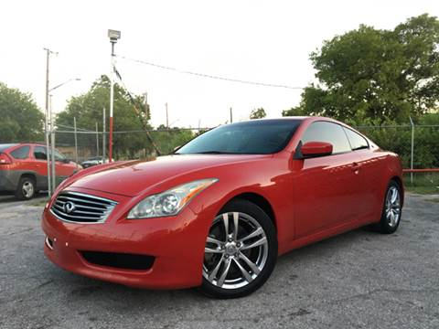 2009 Infiniti G37 Coupe for sale in San Antonio, TX