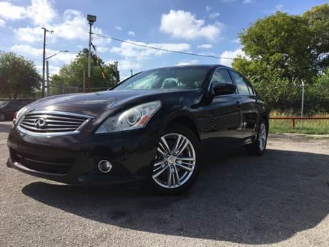 2013 Infiniti G37 Sedan for sale in San Antonio, TX