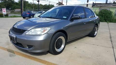 2005 Honda Civic for sale in San Antonio, TX
