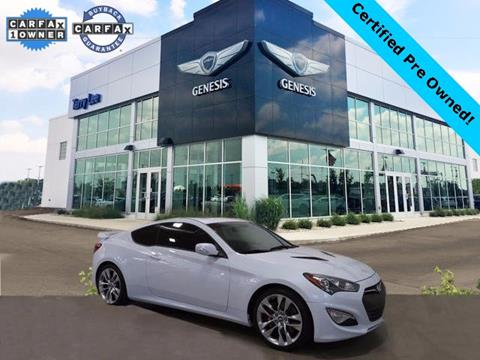 2015 Hyundai Genesis Coupe for sale in Noblesville, IN