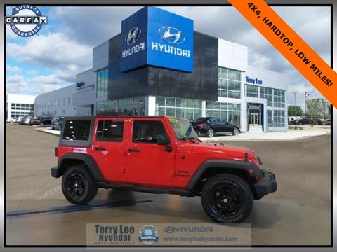 2015 Jeep Wrangler Unlimited for sale in Noblesville, IN