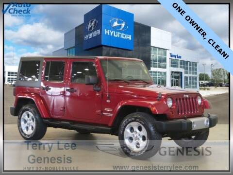 2013 Jeep Wrangler Unlimited for sale at Terry Lee Hyundai in Noblesville IN