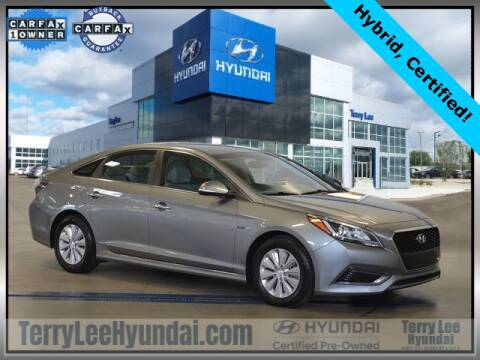 2017 Hyundai Sonata Hybrid for sale at Terry Lee Hyundai in Noblesville IN