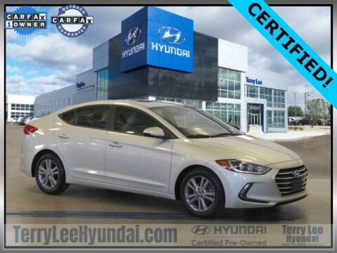 2017 Hyundai Elantra for sale at Terry Lee Hyundai in Noblesville IN