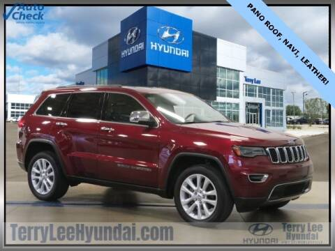 2017 Jeep Grand Cherokee for sale at Terry Lee Hyundai in Noblesville IN