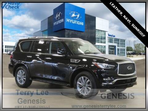 2019 Infiniti QX80 for sale at Terry Lee Hyundai in Noblesville IN