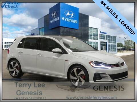 2019 Volkswagen Golf GTI for sale at Terry Lee Hyundai in Noblesville IN