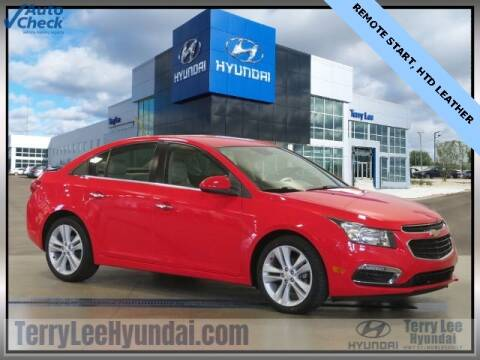 2015 Chevrolet Cruze for sale at Terry Lee Hyundai in Noblesville IN