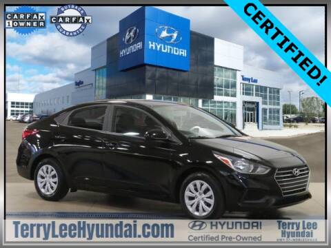2019 Hyundai Accent for sale at Terry Lee Hyundai in Noblesville IN