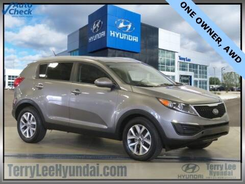 2016 Kia Sportage for sale at Terry Lee Hyundai in Noblesville IN
