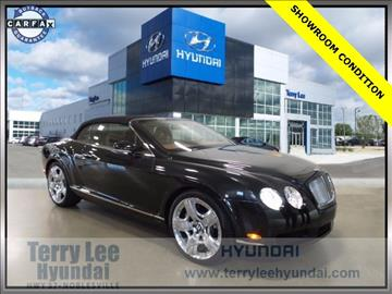 2008 Bentley Continental GTC for sale in Noblesville, IN