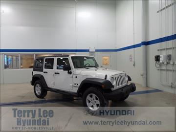 2009 Jeep Wrangler Unlimited for sale in Noblesville, IN