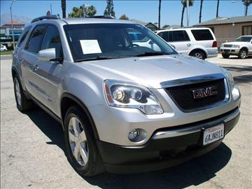 2007 GMC Acadia for sale in Ontario, CA